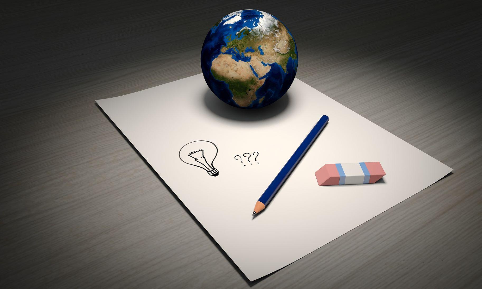 Geschäftsmodellentwicklung -Unternehmens-Ausrichtung neu schreiben